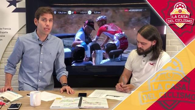 La Casa del Ciclismo (9ª etapa): A Valverde le va a sentar mucho mejor no ser líder de La Vuelta