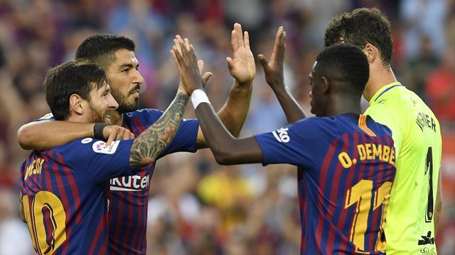 Sergio Ramos frappe Messi, le Barça hurle au scandale — Esp