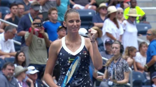 Un succès en deux sets, un tennis inspiré : Pliskova n'a pas tremblé face à Barty