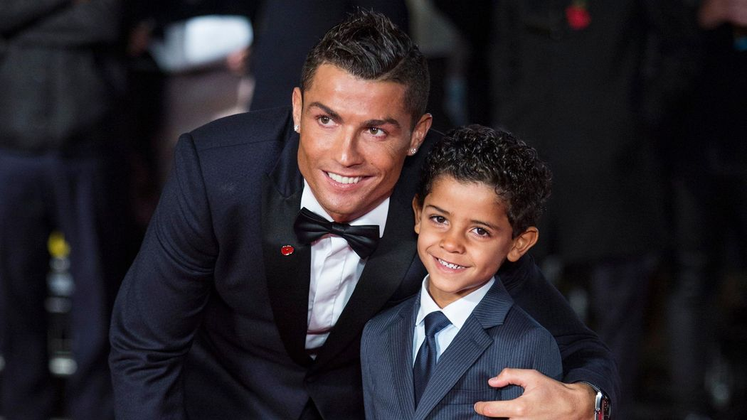 promo code 7fcf7 f8866 Cristiano Ronaldo Jr scores FOUR on debut for Juventus U9 ...