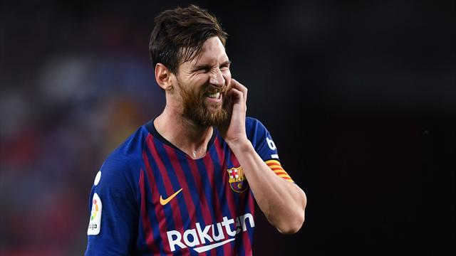 Messi breaks silence on Ronaldo's departure Real Madrid exit