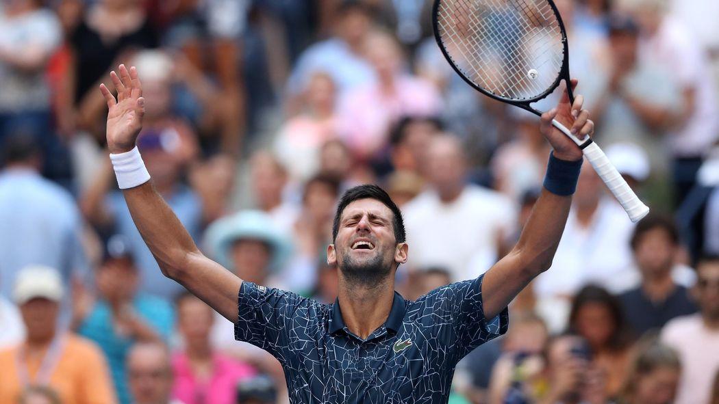 222a56be3d Novak Djokovic se défait de Joao Sousa (6-3, 6-4, 6-3) sans briller pour  rejoindre les quarts - US Open 2018 - Tennis - Eurosport