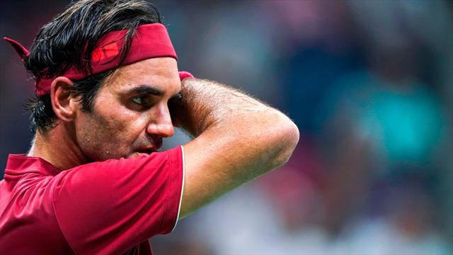 'I couldn't get air' - Federer complains of humidity after shock defeat