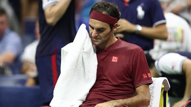 ABD Açık'ta Federer ve Sharapova şoku