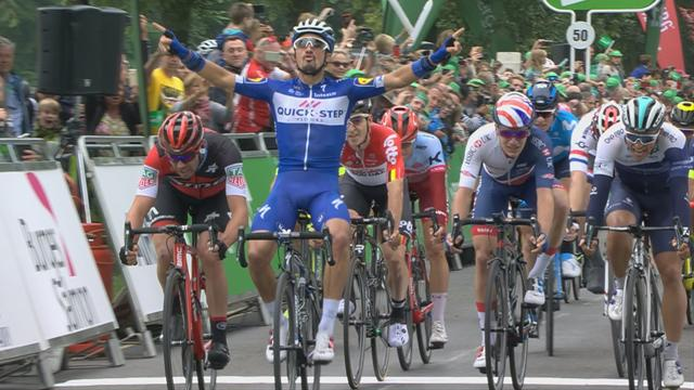 Tour de Gran Bretaña 2018: Julian Alaphilippe afina para el Mundial ganando la tercera etapa