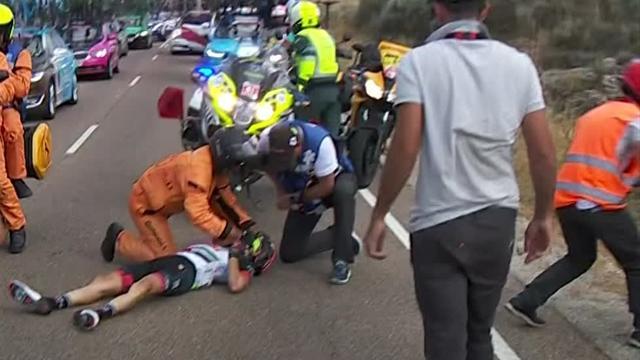 Simone Petillis otäcka vurpa i Vueltan