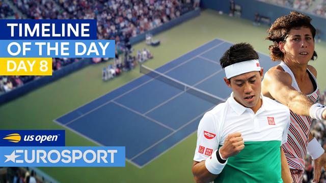 US Open 2018: Del cabreo de Djokovic al dolor de Tsurenko en nuestro resumen del día