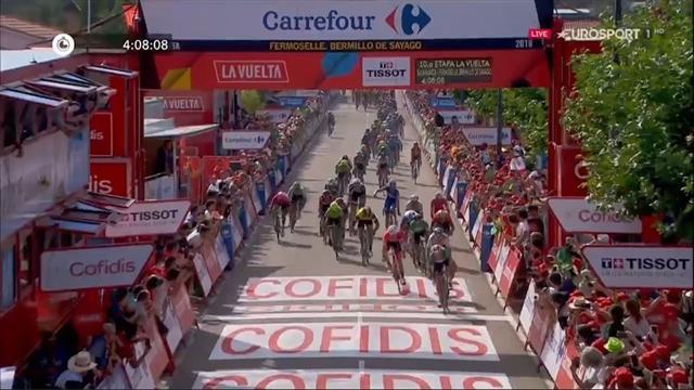 Vuelta Espana, Elia Viviani da numero uno nella decima tappa