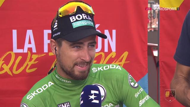 """Sagan : """"Cela va être difficile de garder le maillot vert"""""""