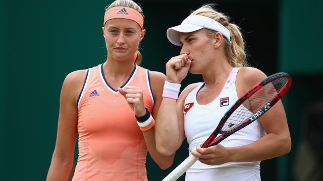 Double dames : Mladenovic et Babos dans le dernier carré