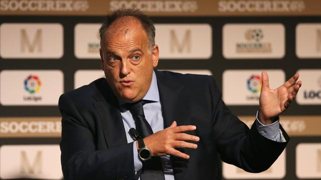 La Liga President Javier Tebas wants City, PSG banned from Champions League