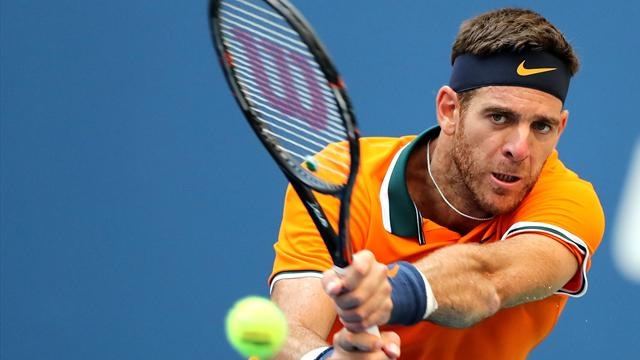 Le passing de Thiem, l'incroyable défense de Del Potro : le top 5 des points de mardi