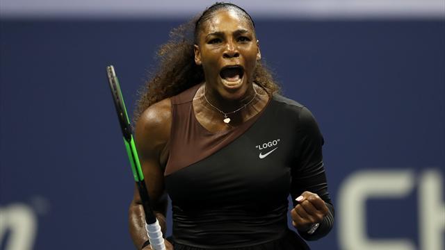 Serena reprend une demie