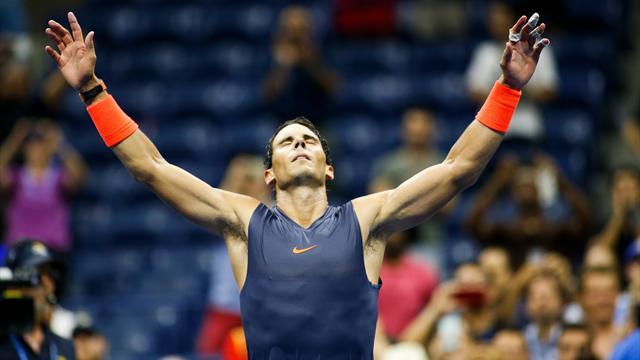 Muhteşem düellodan zaferle ayrılan Nadal