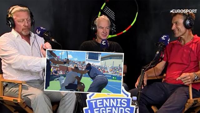 """McEnroe försvarar svenske huvuddomaren: """"Borde inte straffas, borde belönas"""""""