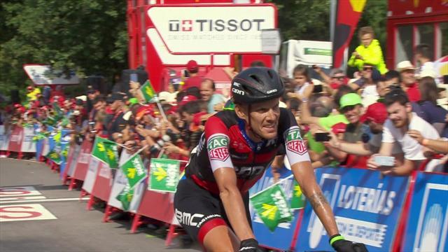 La Vuelta: 11. etabın son kilometresi