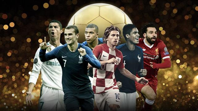 Ronaldo among first nominees for Ballon d'Or award
