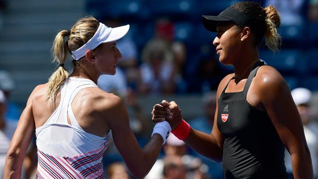 US Open - Madison Keys rejoint facilement Naomi Osaka