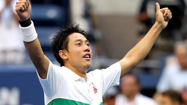 Nishikori de retour en demi-finale en battant Cilic — US Open