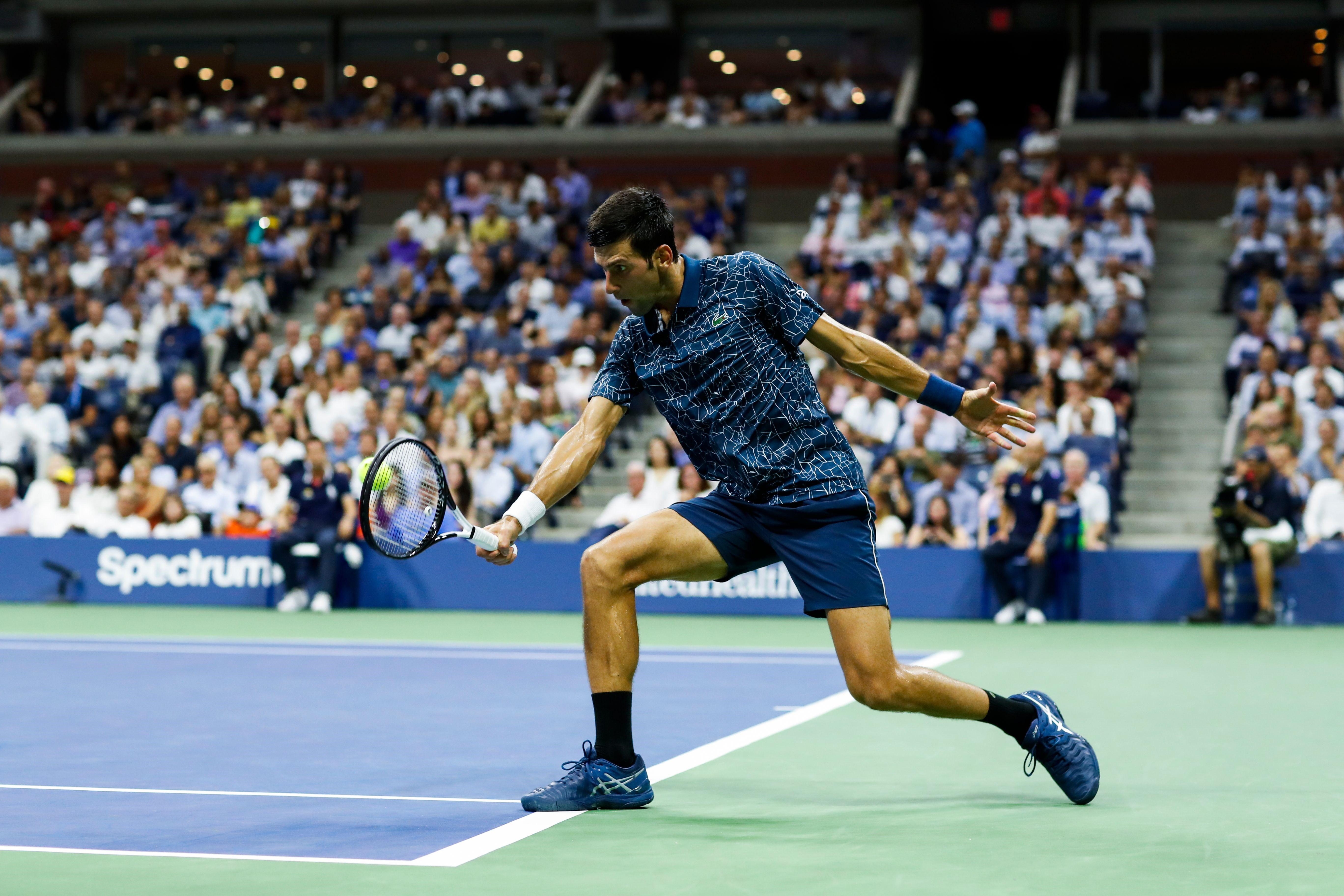Novak Djokovic / US Open 2018