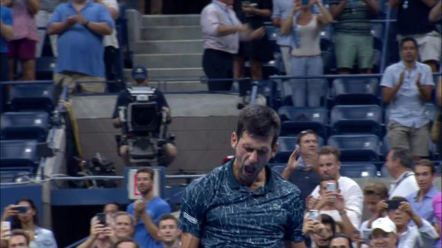 ABD Açık: Novak Djokovic - John Millman (Özet)