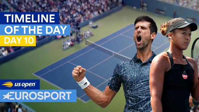 US Open2018: El auge del tenis japonés, la retirada de Schiavone y Djokovic, nuevamente en semis