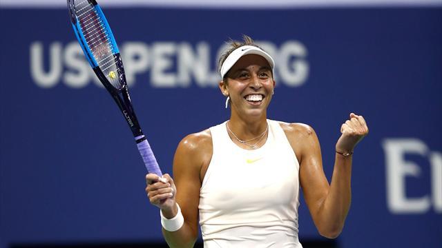 Keys sets up Osaka showdown in US Open semis