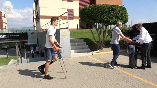 Diego Llorente abandona la concentración de España como estaba previsto