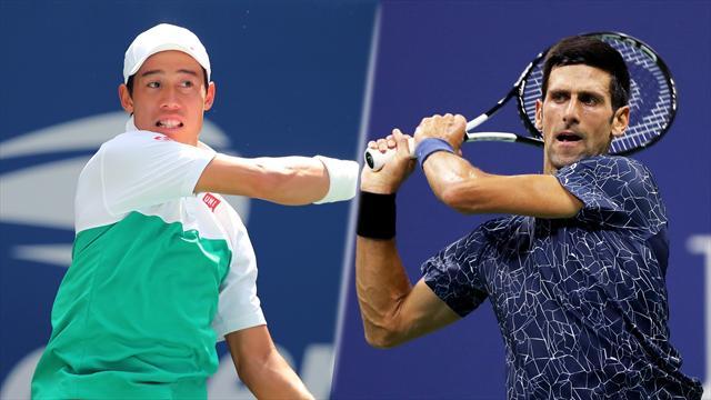 "Djokovic - Nishikori, les ""faux jumeaux"""