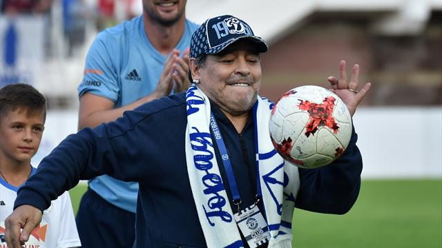 """Maradona'dan """"uyuşturucu"""" iddialarına yalanlama"""