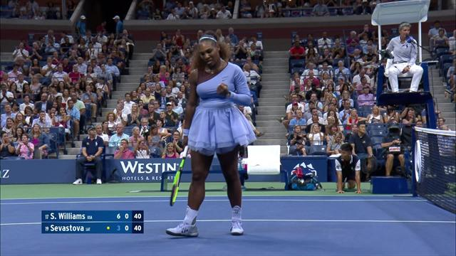 ABD Açık: Serena Williams - Anastasija Sevastova (Özet)