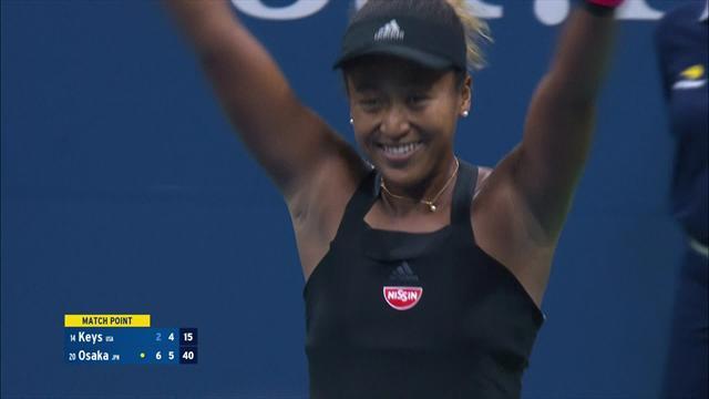 Höjdpunkter: Naomi Osaka klar för final mot Serena Williams