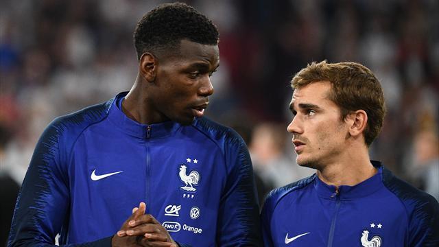 Pogba : «Je n'ai jamais joué en équipe de France pour être capitaine»