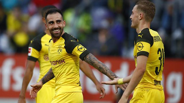 BVB-Star Alcacer verletzt? Beunruhigende Andeutung von Favre