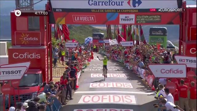 Superskräll när Óscar Rodríguez vann uppför bergen