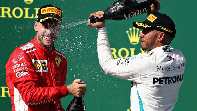 """Hamilton prend la défense de... Vettel : """"Il mérite plus de respect"""""""