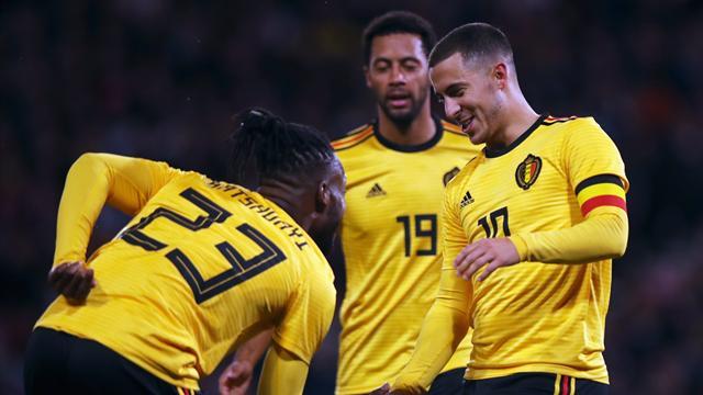 La Belgique est déjà d'attaque