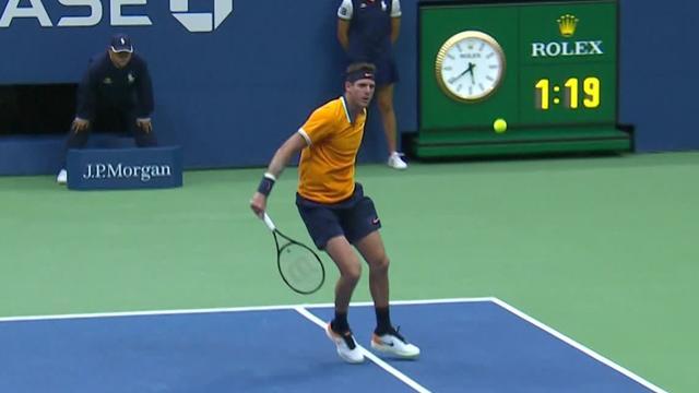 Höjdpunkter: Nadal tvingas bryta semin - del Potro klar för final i US Open