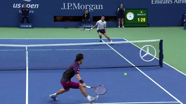 US Open:  Day 12 - Nishikori vs Djokovic ( Player only )