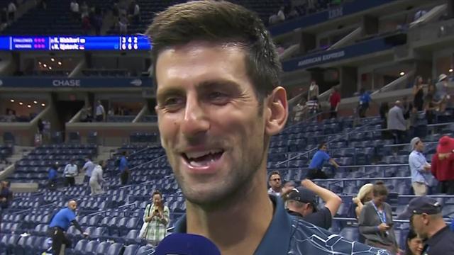 """Djokovic blickar mot söndagens final: """"del Potro är de stora matchernas man"""""""