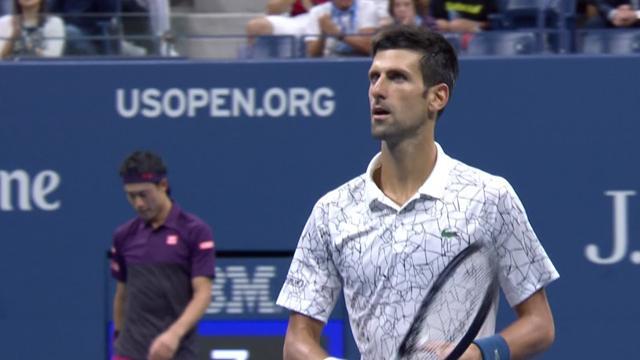 ABD Açık: Kei Nishikori - Novak Djokovic (Özet)