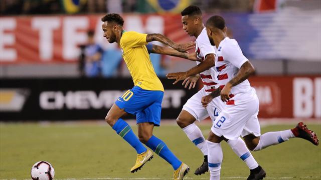 Firmino et Neymar trop forts pour la relève américaine