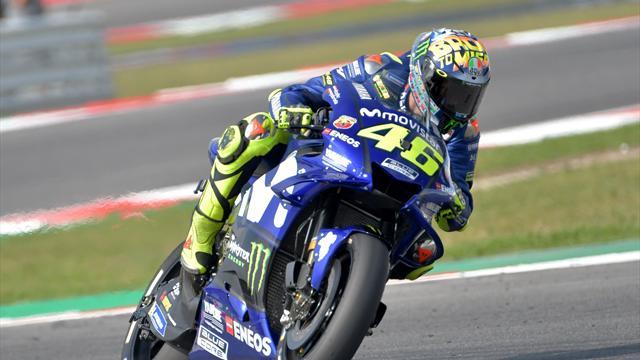 """Anche quest'anno a Misano Rossi ha un casco speciale: il tema è """"Ritorno al Futuro"""""""