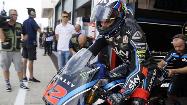 Moto2: Bagnaia da sogno, in pole davanti a Schrotter e Pasini