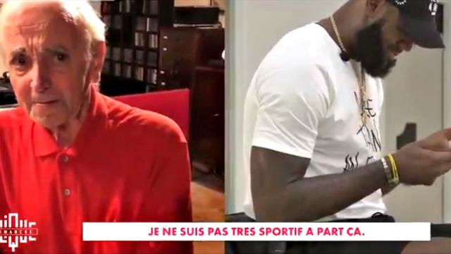 Quand Aznavour envoie un message à Lebron James... son plus grand fan