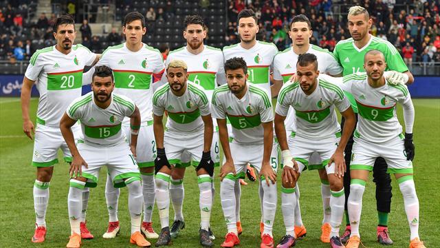 La Gambie et l'Algérie se neutralisent 1-1