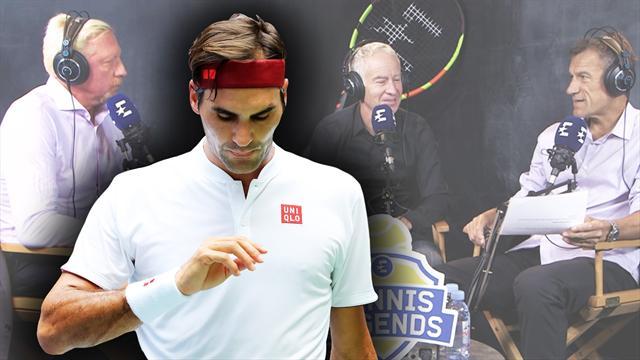 Legenden-Vodcast mit Becker, McEnroe und Wilander #2: Das passiert jetzt mit Federer