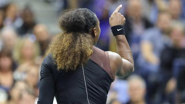 Une amende de 17'000 dollars pour Serena Williams — US Open