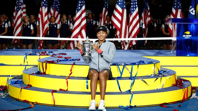 Naomi Osaka a brave, brilliant champion