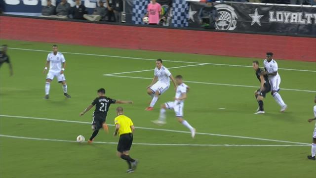 Кипер «Орландо» попал под обстрел игроков «Спортинга» и разок не выручил, потому что удар был хорош